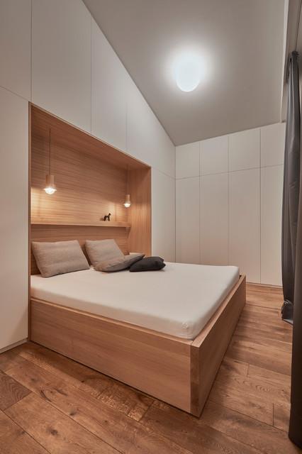 UMBAU INNENARCHITEKTUR Wohnhaus Mit Gastehaus Modern Bedroom