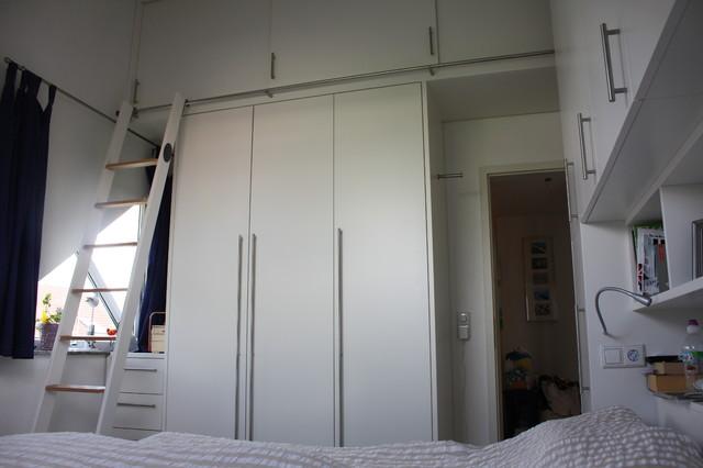 viel stauraum auf wenig platz modern schlafzimmer von horst fetting individueller innenausbau. Black Bedroom Furniture Sets. Home Design Ideas