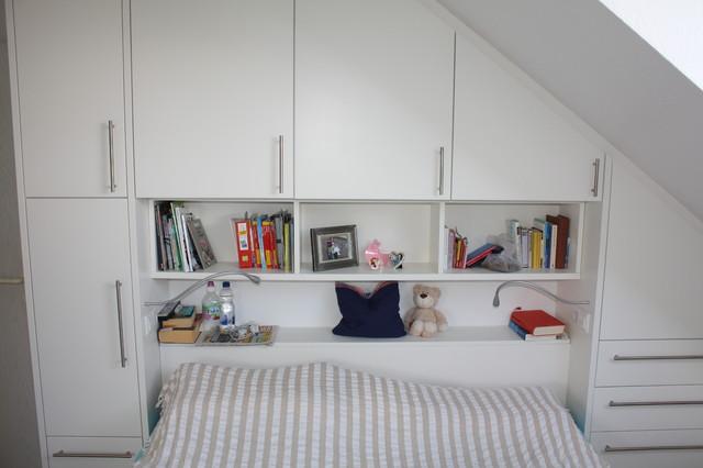 Viel Stauraum Auf Wenig Platz Modern Schlafzimmer