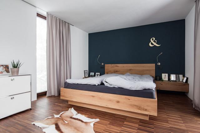 Wohnen mit geschichte schlafzimmer skandinavisch for Schlafzimmer interior design