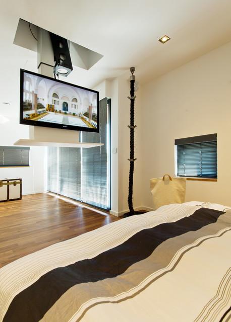wohnhaus im seelhorster garten modern schlafzimmer hannover von bartels architektur. Black Bedroom Furniture Sets. Home Design Ideas