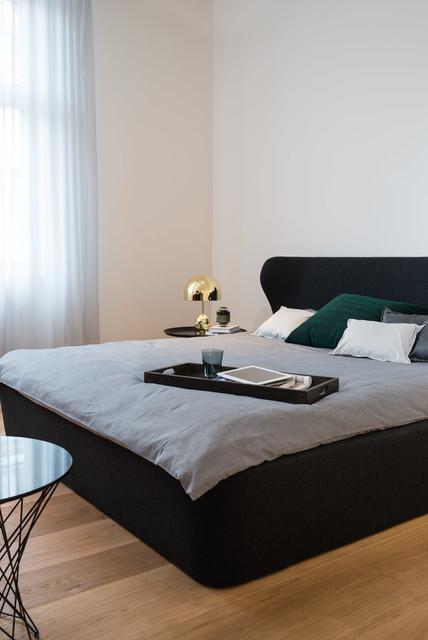 Wohnung mit Blick modern-schlafzimmer