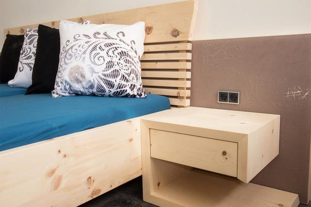 zirbenbetten und zirbenschlafzimmer - modern - schlafzimmer ... - Moderne Schlafzimmer Aus Zirbenholz