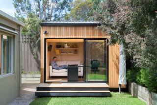 Blackburn office studio contemporary garden shed and - Banc de jardin leroy merlin ...