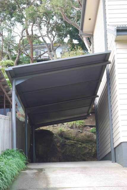 Carport Awnings Traditional Granny Flat Or Shed