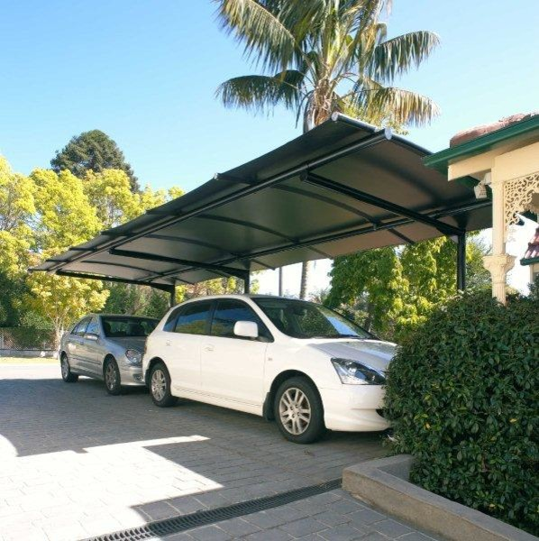 carport awnings contemporain abri sydney par outrigger awnings and sails sydney. Black Bedroom Furniture Sets. Home Design Ideas