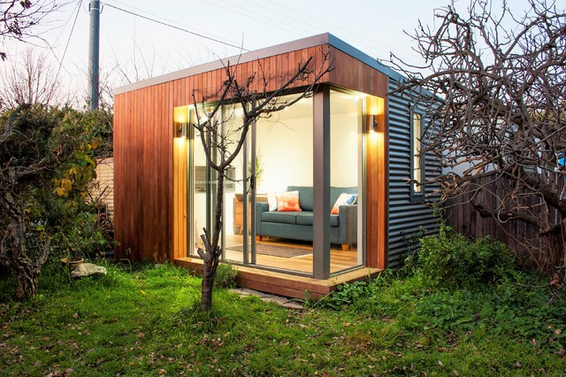cosy space contemporary garden shed and building canberra queanbeyan by inoutside - Garden Sheds Queanbeyan