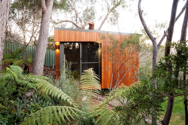 fitness studio contemporary garden shed and building - Garden Sheds Queanbeyan