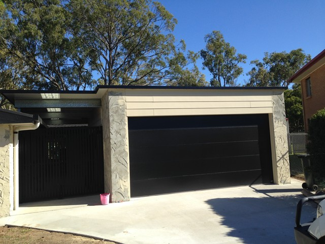 Garage extension rockhampton modern granny flat or for Garage with granny flat on top