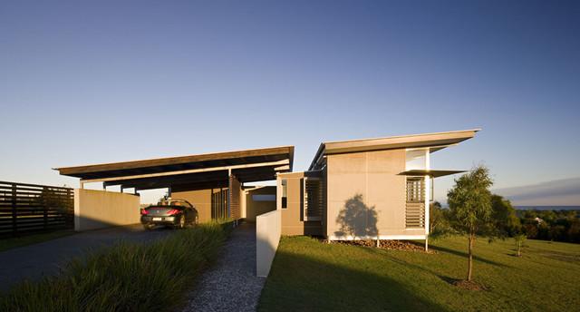 Hervey bay house queensland contemporary