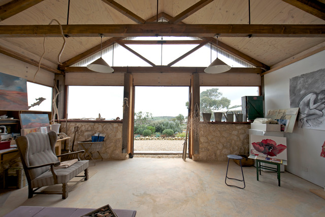 My Houzz: Artist Home And Studio Overlooking Kangaroo