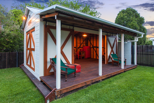 Backyard Man Cave Kits : ShedMan Cave with Underground Wine Cellar  Garage And Shed  other