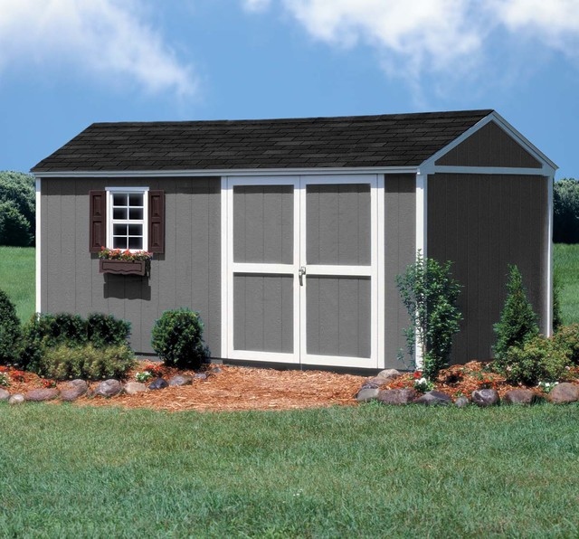 10 x 16 storage shed modern shed other metro by backyard
