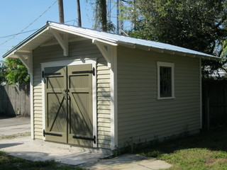 Craftsman Storage Shed For A Bungalow