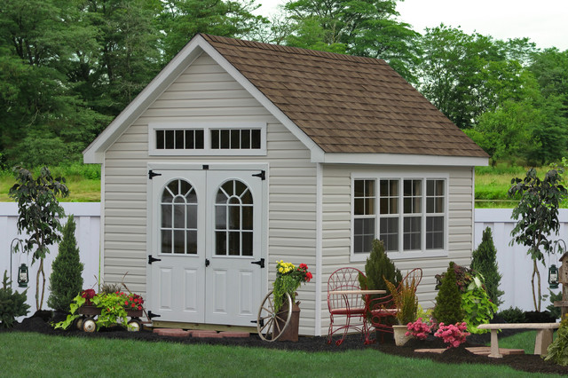 these premier garden storage sheds are among the best looking in the lancaster shed industry - Garden Sheds Mn