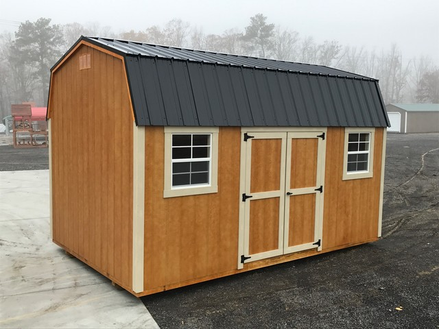 10x16 Dutch Barn Craftsman Shed Other By Fisher Barns