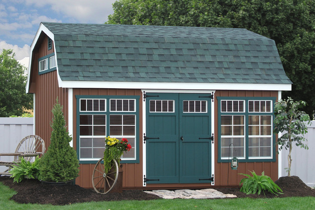 10x16 premier dutch barn for around 370000 traditional shed