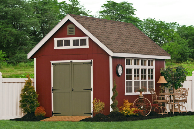 Delicieux 10x16 Premier Garden Shed   Traditional   Shed ...
