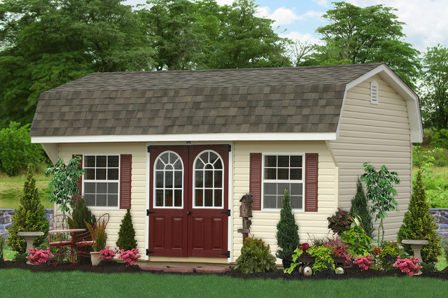 Inspiration For A Timeless Shed Remodel In New York