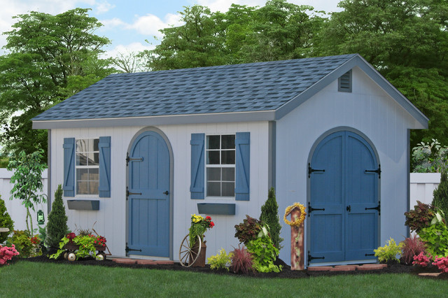 10x20 Wooden Storage Shed in MD traditional-shed & 10x20 Wooden Storage Shed in MD - Traditional - Shed - New York - by ...