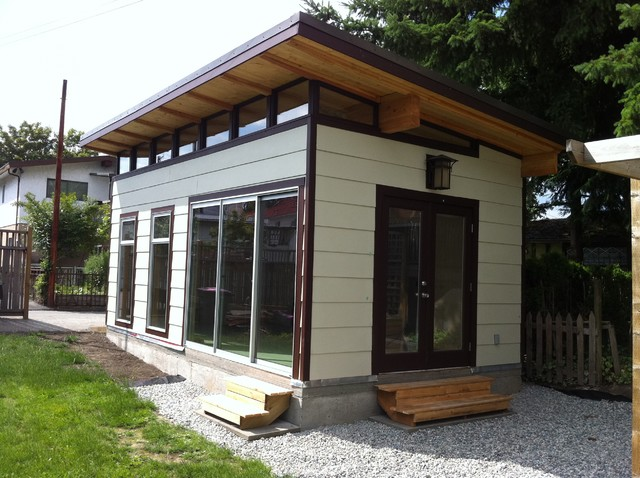 12 X 21 Coastal Modern Shed Modern Garage And Shed