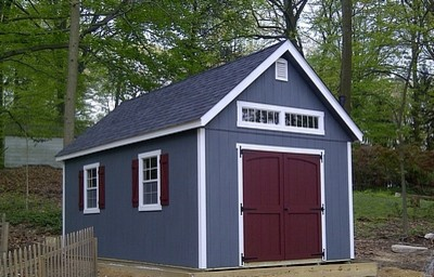 12x24 Anderson Shed traditional-garage-and-shed
