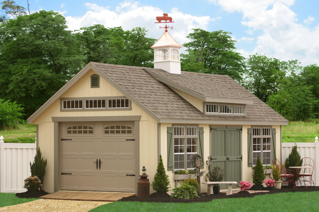 Traditional - Garage And Shed - philadelphia - by Sheds Unlimited INC