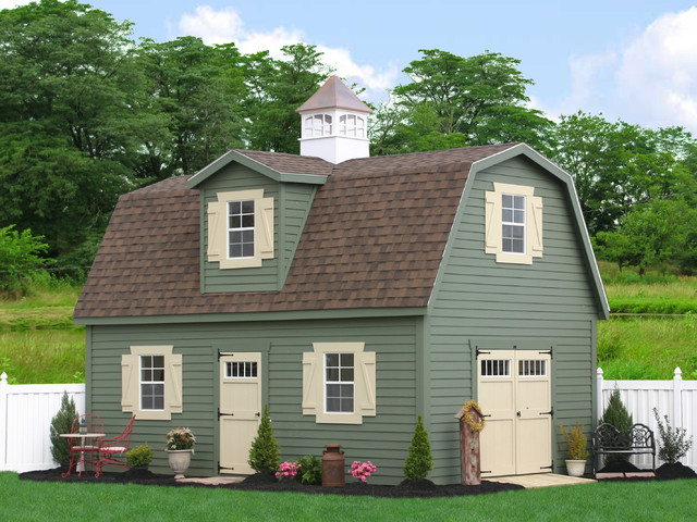 2 Story Amish Garages : Two story shed from the amish in pa traditional