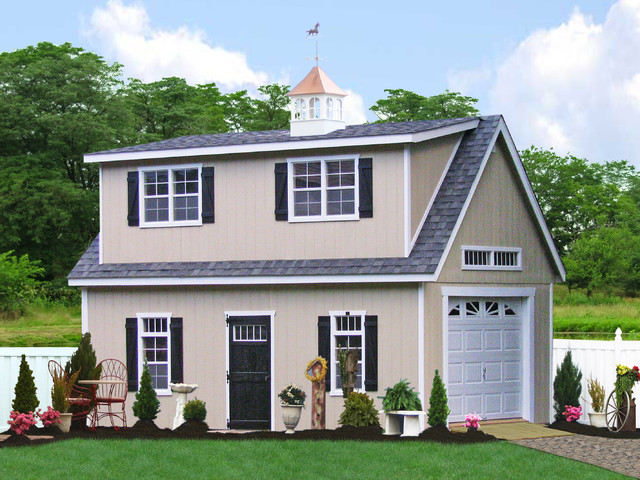 More garden sheds virginia desmi for Two story shed house