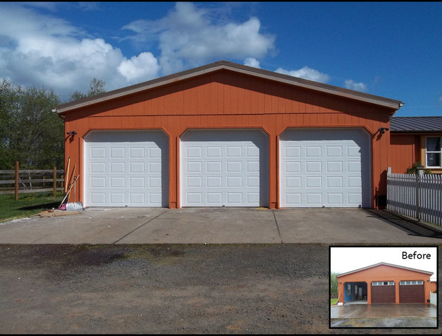 x fl opener door doors intended style in with remarkable on pane carriage white overhead lowes exterior canada excellent garage