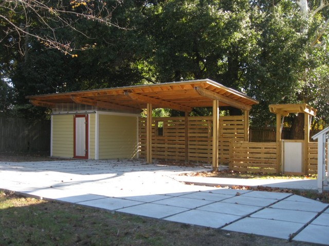 605 sfs carport Carport with storage room
