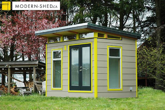 8x12 coastal modern shed modern shed - Garden Sheds Vancouver