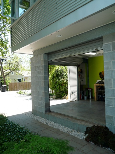 900 square foot House and Garden contemporary-garage-and-shed