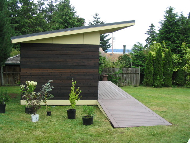 Modern Shed - Modern - Garage And Shed - seattle - by J C Stoneman ...