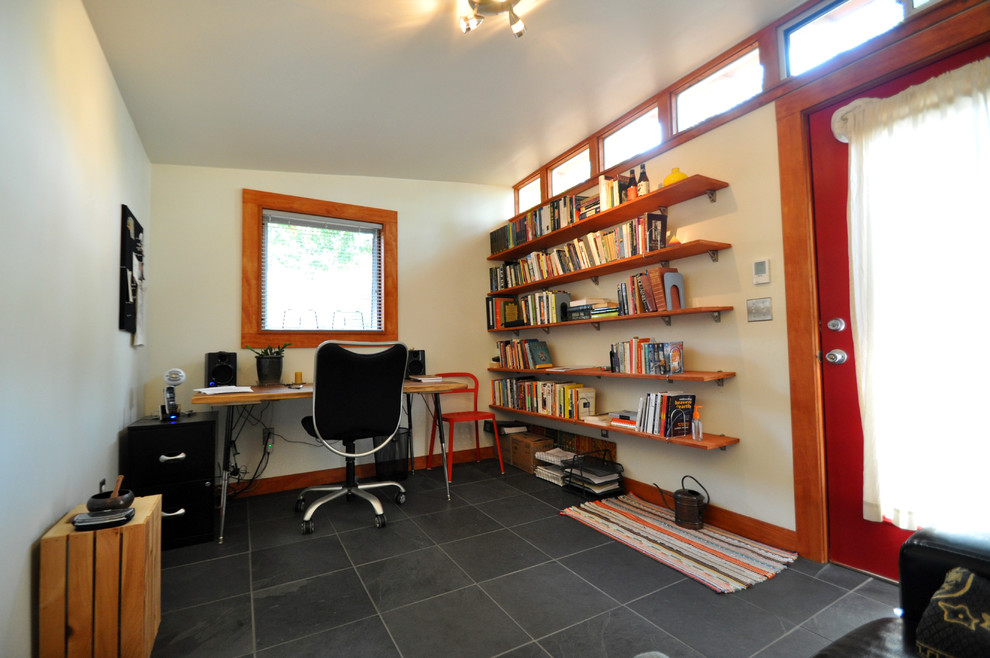 A Writer S Backyard Retreat 10x14 Lifestyle Studio Shed Modern Shed Denver By Studio Shed Live Large Build Small