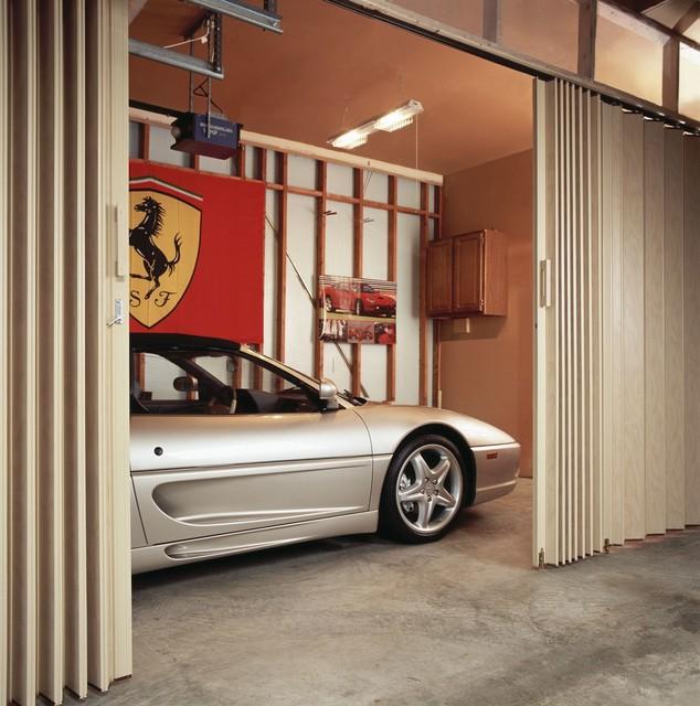 Accordion Doors Industrial Shed