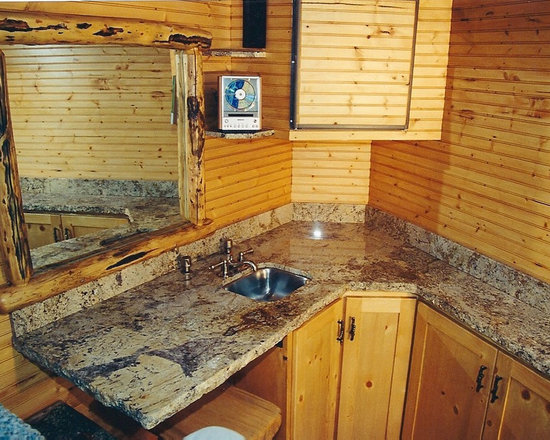 Astoria Granite Countertop Garage and Shed Design Ideas, Pictures, Remodel & Decor