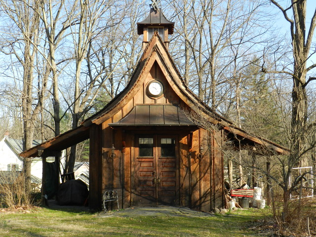 Adirondack Garden Buildings Traditional Shed New