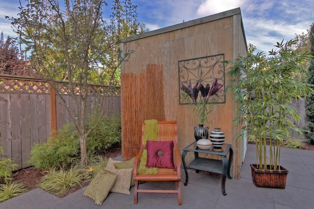 Alberta Arts District - Urban Living - garden roof modern-garage-and-shed