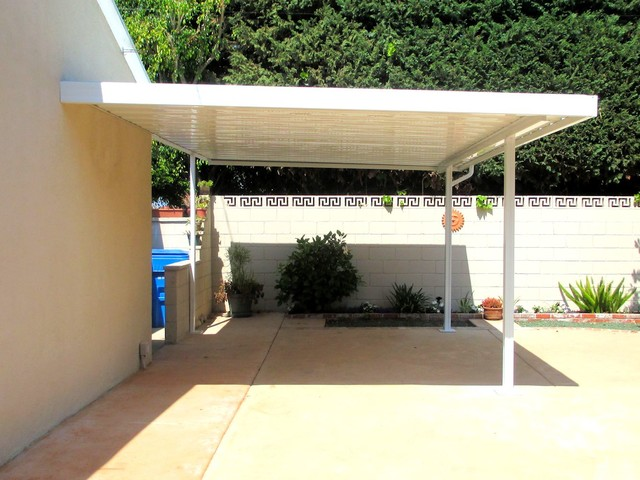 Aluminum Carport Traditional Garage And Shed Los
