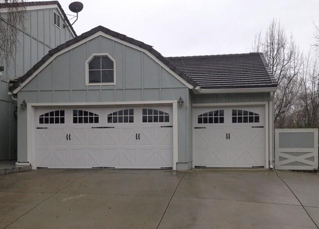 Farm House Garage Doors : Amarr classica santiago steel carriage garage door
