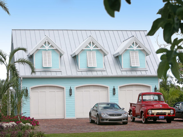 Architecture tropical-garage-and-shed