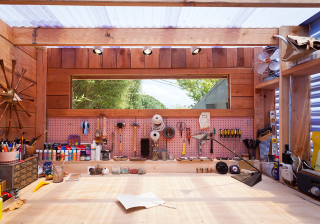 Art Shed contemporary-garage-and-shed