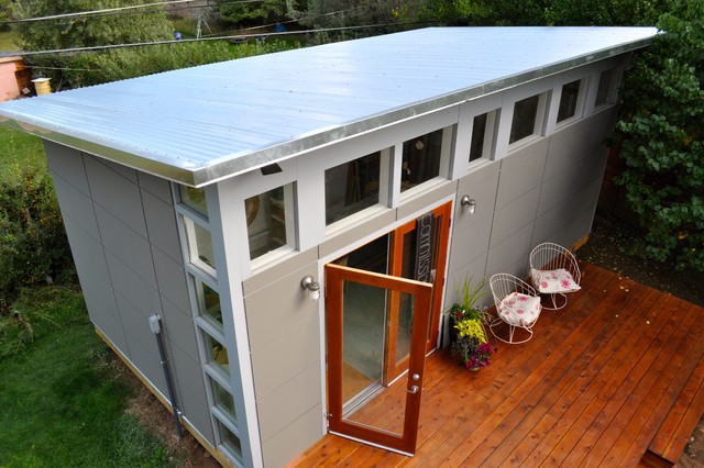 Artists Studio Studio Shed Lifestyle Modern Garden Shed and