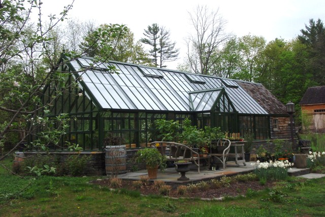 Attached English Greenhouses