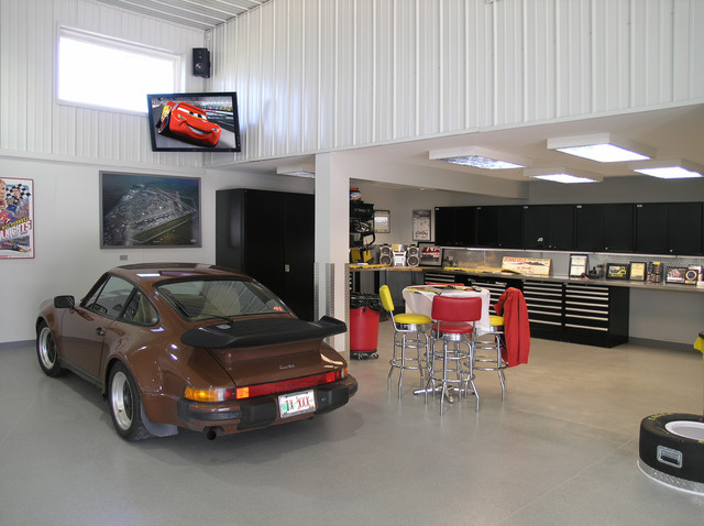 awesome garage - traditional - shed - chicago -tech tonic llc