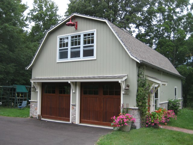 Barn with second floor office farmhouse garage and for Garages that look like barns