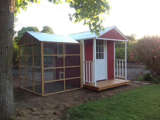 Barnyard Bonanza Chicken Coop With Run Farmhouse Shed