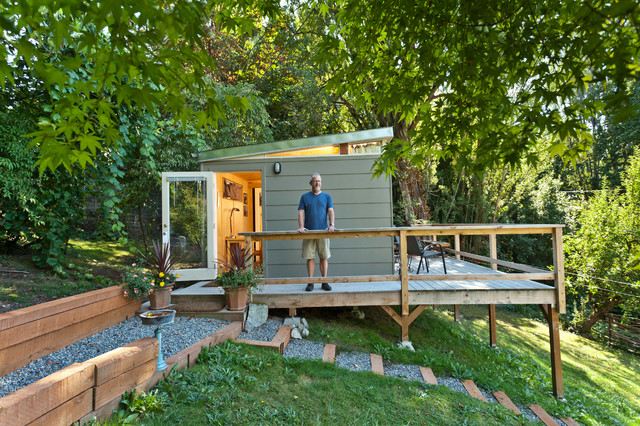 Beacon Hill Seattle WA Guest Home Modern Granny Flat or Shed