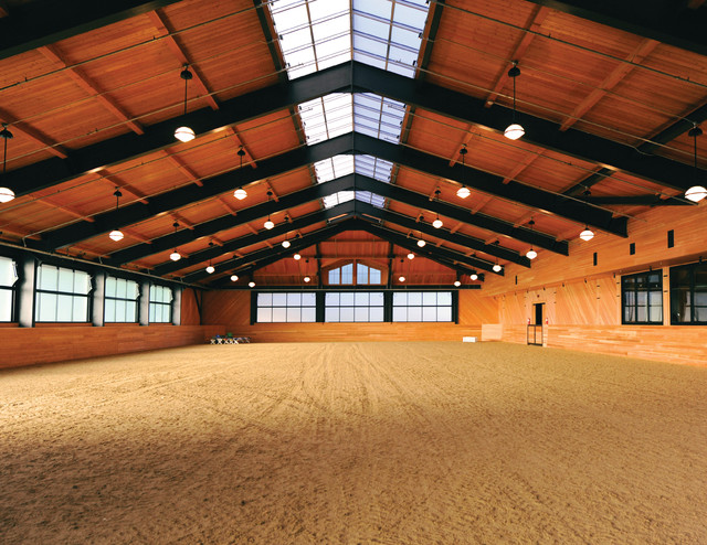 Beechwood Stables Arena Contemporary Garage And Shed Boston By Marcus
